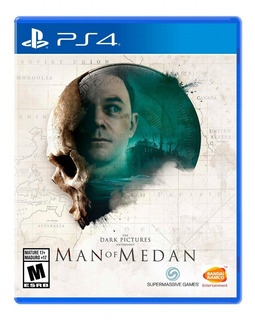 The Dark Pictures Anthology Man Of Medan Ps4 Físico Original