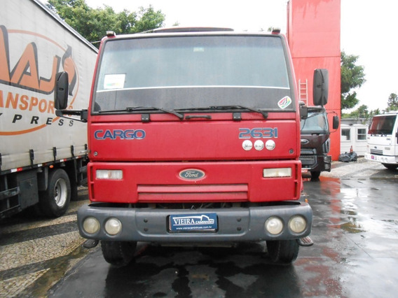 Ford Cargo 2631 6x4 Basculante