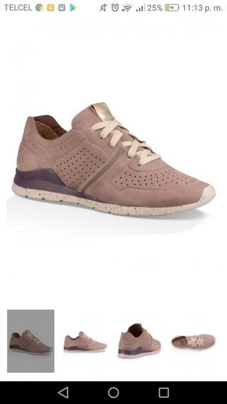 Zapatos Deportivos De Tye Ugg Coach Mk Dama Tenis Flats