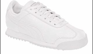 Tenis Puma Roma Blanco/blanco