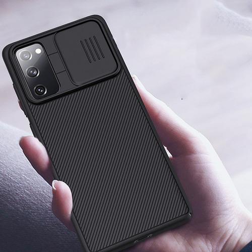 Imagen 1 de 10 de Slide Protect - Carcasa Protectora Para Samsung Galaxy S20 F