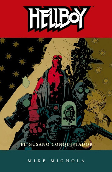 Comic Hellboy # 5 El Gusano Conquistador Mike Mignola