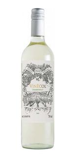 Vino Vinecol Chardonnay 750ml Regionales Mendocina Distrib.