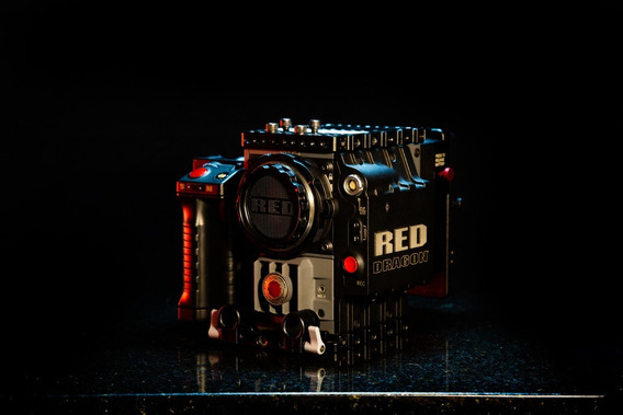 Câmera Red Scarlet Dragon 6k - Completa Ef Mount