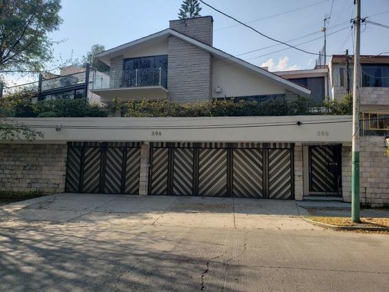 Hermosa Casa En La Mejor Zona De Tecamachalco Recién Remodel