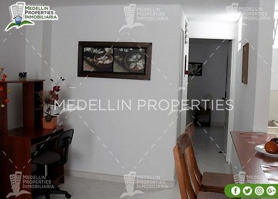 Apartamentos Amoblados Economicos En Medellin Cód: 4162