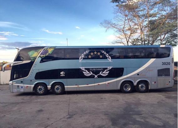 Ônibus Marcopolo Pradiso Dd Scania K 400 8x2 - 55 Lugares