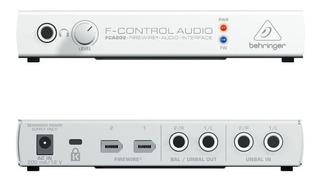 Interfase Audio Behringer Fca202 F-control Audio