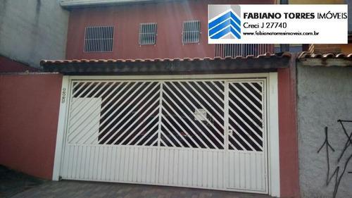 Sobrado Para Venda Em Santo André, Parque Novo Oratorio, 3 Dormitórios, 1 Suíte, 1 Banheiro, 2 Vagas - 1412_2-593841