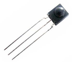 5pçs Hrm138bc5400c Receptor Infravermelho 38khz