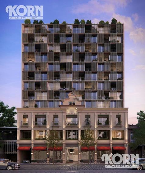 San Telmo - Estudio Profesional En Venta De 1 Ambiente Con Balcon Terrazaen Construccion