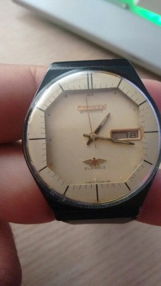 Relógio Automático 51-2435 Citizen Restauro Usado No Estado