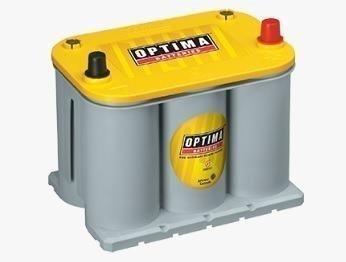 Bateria De Gel Optima Amarilla Para Renault Trafic 2011