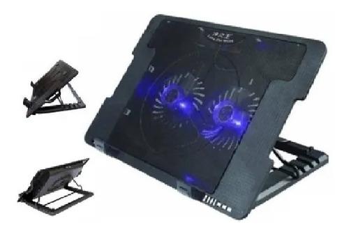 Base Enfriadora Para Laptop, Posiciones 2 Ventiladores Clr26