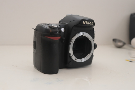 Corpo Nikon D80 Retirada De Peças