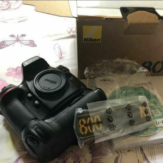 Nikon D800(corpo+ Lente 50mm 1.8+ 2baterias+ Cartão De 32g)