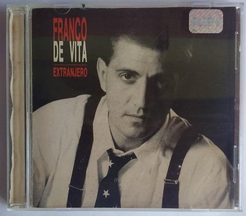 Franco De Vita. Extranjero, En Vivo Marzo . 2 Cds Originales