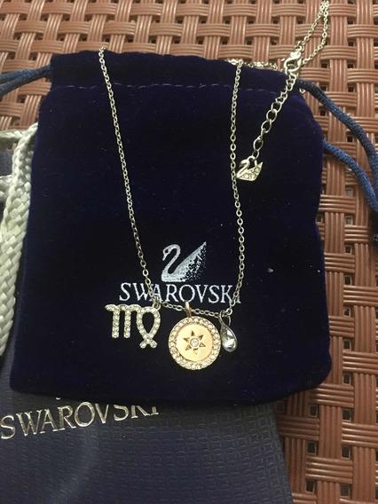 Colar Swarovski Signo Virgem
