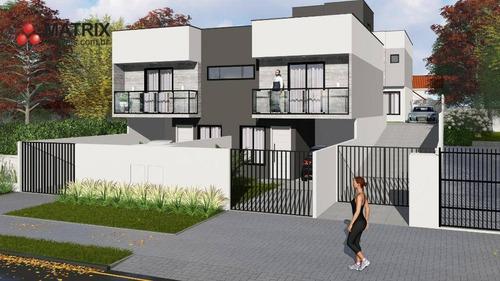 Sobrado Com 3 Dormitórios À Venda, 92 M² Por R$ 425.000,00 - Xaxim - Curitiba/pr - So2428