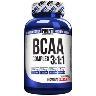 Suplemento Bcaa Complex 60 Caps *frete Gratis*