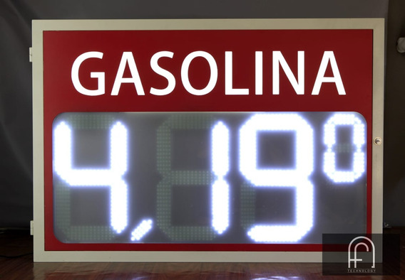 Painel Digital Posto Gasolina