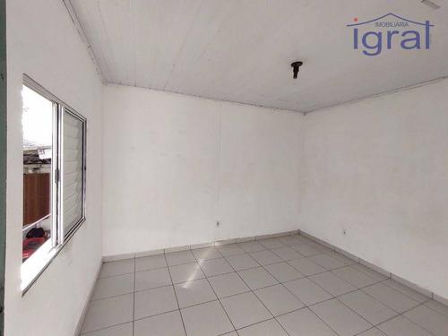 Imagem 1 de 10 de Casa Para Alugar, 50 M² Por R$ 1.000,00/mês - Vila Santo Estéfano - São Paulo/sp - Ca1101