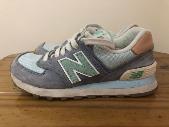 Zapatillas New Balance Modelo 574 Talle 35 Originales