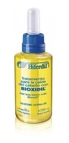 Loción Tratamiento Caída Del Cabello Biferdil Con Bioxidil