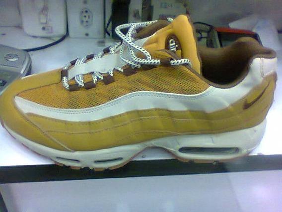 Tenis Nike Air Max 95 Caramelo E Branco Nº38 Ao 43 Original
