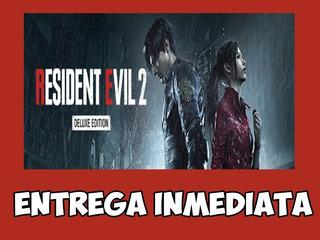 Resident Evil 2 / Biohazard Re:2 Deluxe   Original Pc Steam