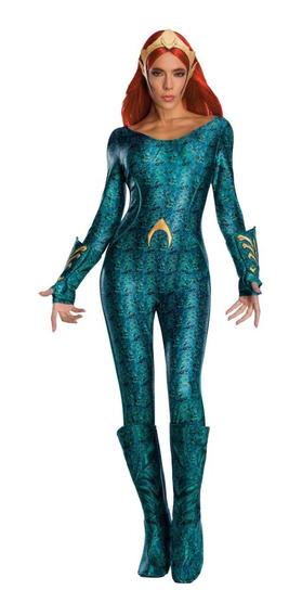 Disfraz Mera Aquaman Dc Comics Rubies Mujer Dama Ch M G