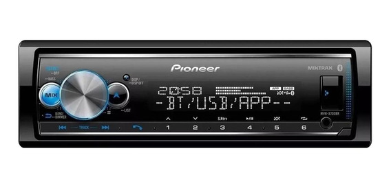 Som automotivo Pioneer MVH X7000 com USB e bluetooth