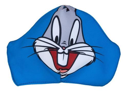 Tapabocas Looney Kids (7 A 15 Años) Bugs Bunny