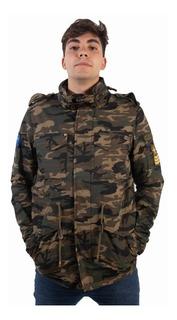 Campera Parka Hombre Invierno Rusty Zuriname Militar
