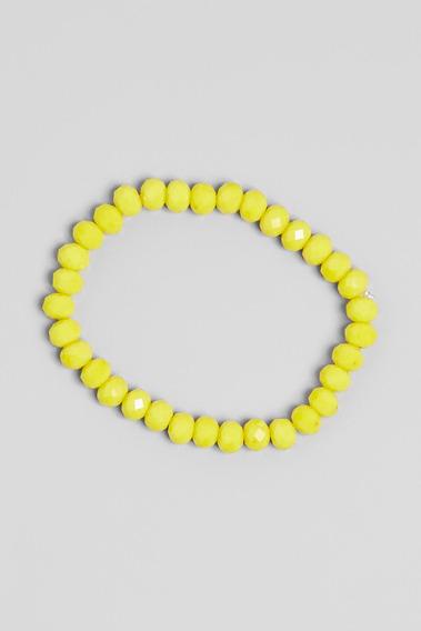 Pulseira Cristal Reserva Mini - Color Amarelo