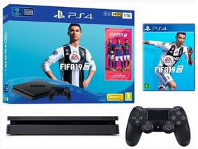 Ps4 Slim 1tb Hdr Playstation 4 + Fifa 19 - Lançamento!