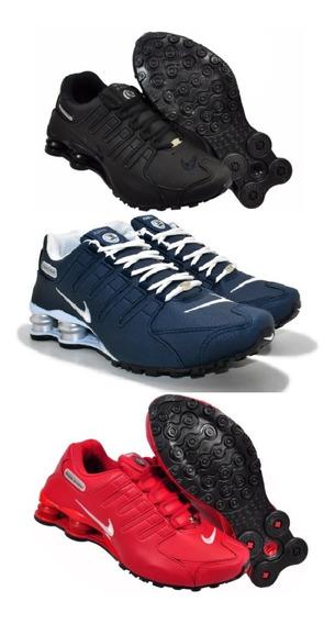 Tênis Nike Sxhox Nz 4 Molas Queima De Estoque Kit Com 3 Par