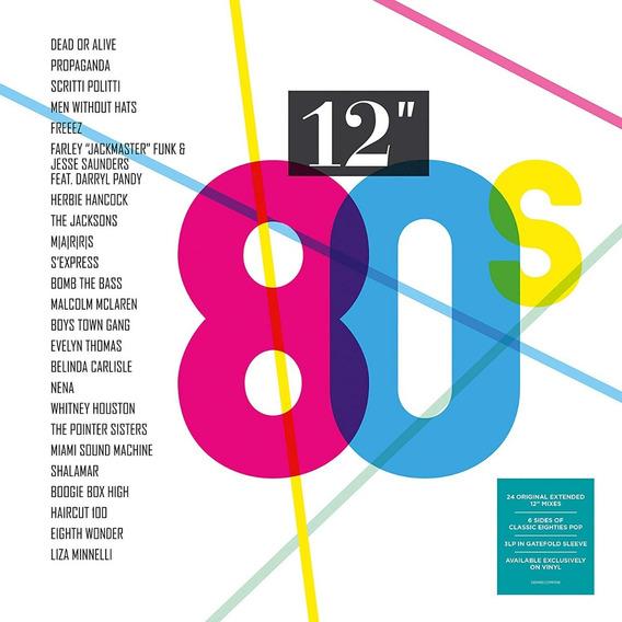 80s 12inch Various Artists Vinilo Triple Nuevo Importado