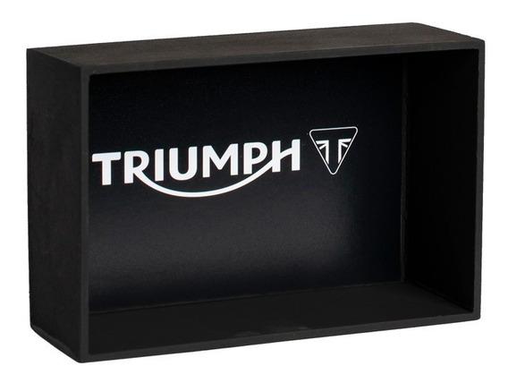 Expositor Base Para Miniatura Moto Triumph - Escala 1:18