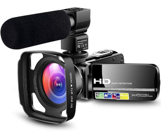 Camcorder Video Camera Ultra Hd 1080p Vlogging Youtube Digit