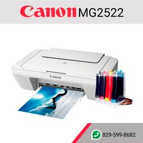 Ofertazo De Impresoras Canon + Sistema Continuo De Tinta