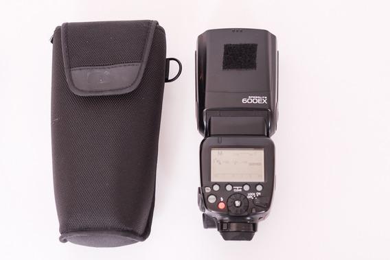 Flash Canon 600ex Ótimo Estado De Conservação.
