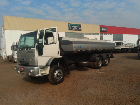 Ford Cargo 2425 6x4 2001 Chassi Ou Tanque 15.000 Lts