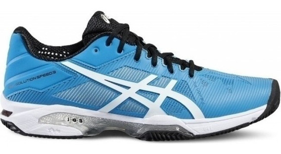 Tênis Asics Gel Solution Speed 3 - Blue Jewel/white/black