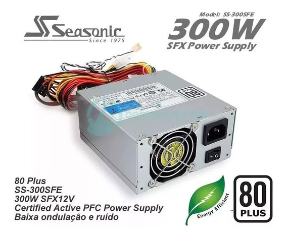 Mini Fonte Sfx Seasonic Ss-300sfe 300 Watts Real Nunca Usada