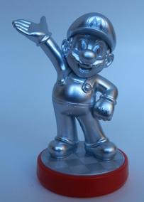 Nintendo Amiibo - Mario Party 10 - Silver Mario Special Edt
