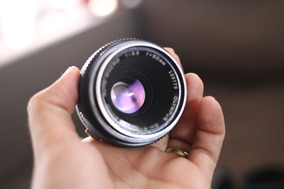 Olympus Zuiko Om 50 3.5 Macro+adaptador Canon