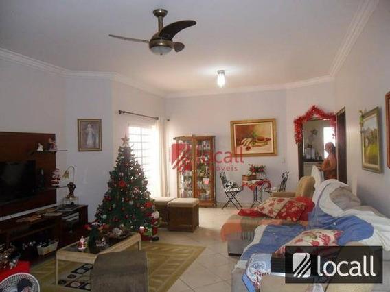 Casa Residencial À Venda, Parque São Miguel, São José Do Rio Preto. - Ca0087