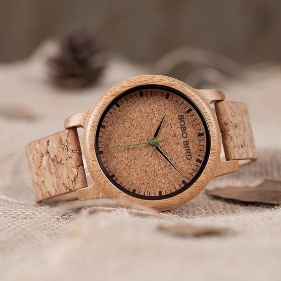 Relógio Feminino Madeira Bobo Bird