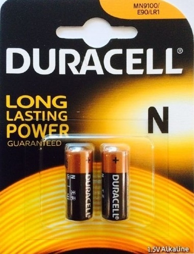 Pilha Duracell Lr1 N 1,5v C/ 02un Original, Alarme, Controle